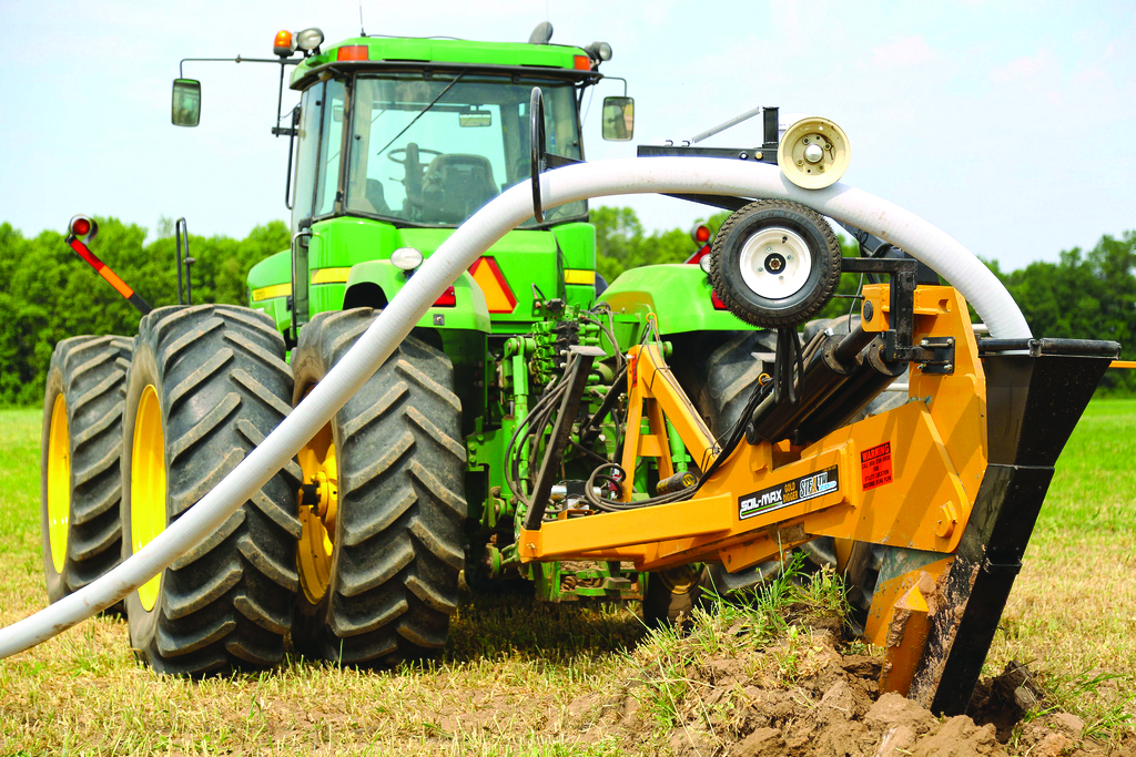 Drainage Equipment The Latest In Tile Plows And Ditching