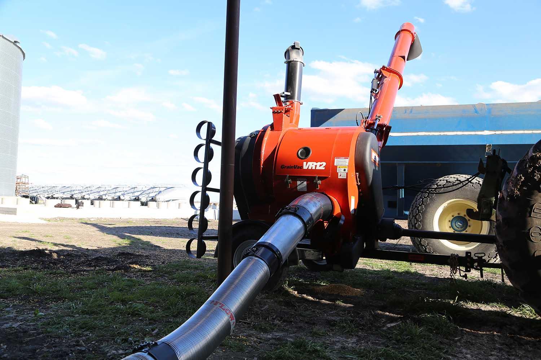 Grain Vac Product Spotlight   Farmers Hot Line
