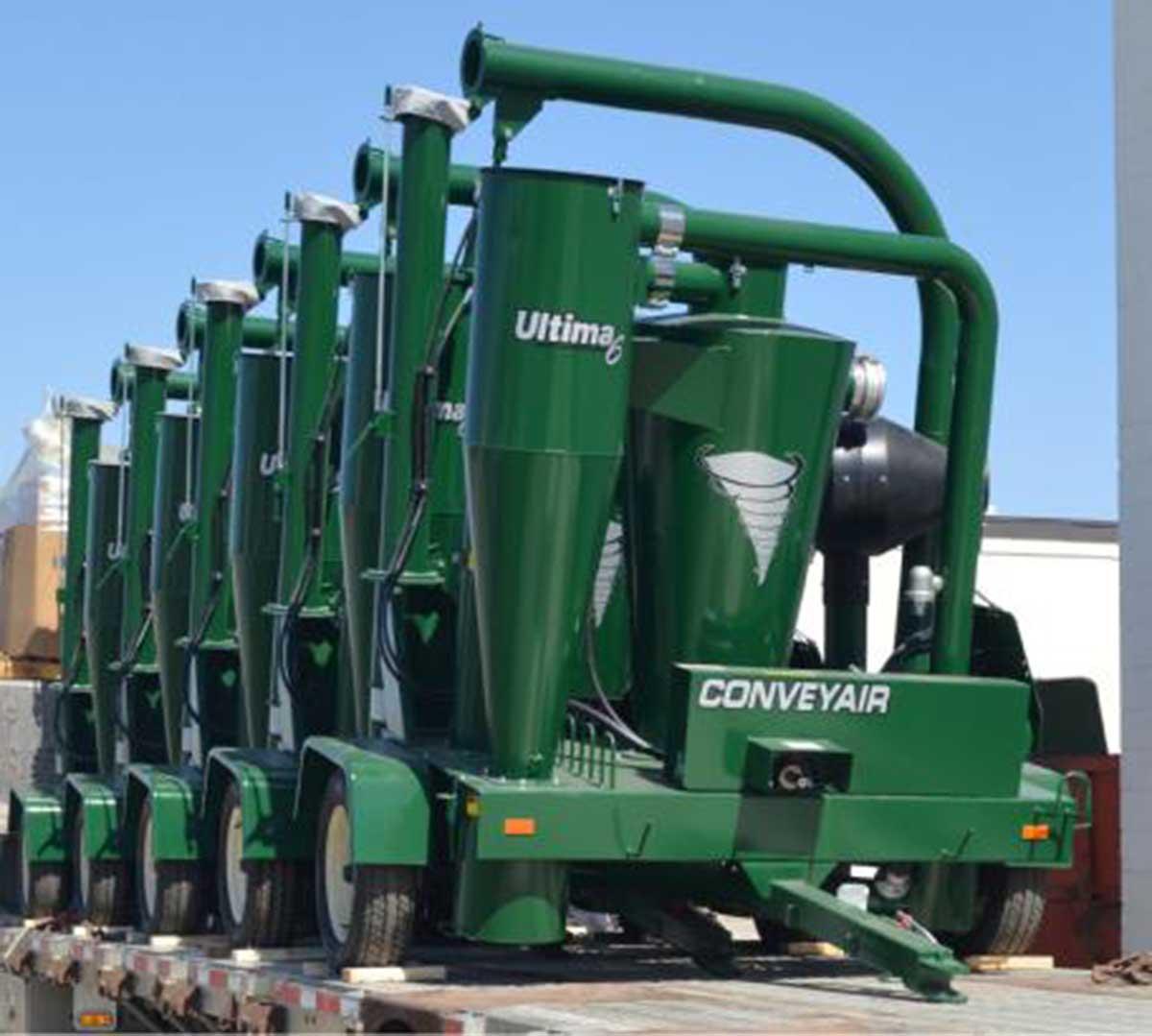 Grain Blower System : Grain vac product spotlight farmers hot line