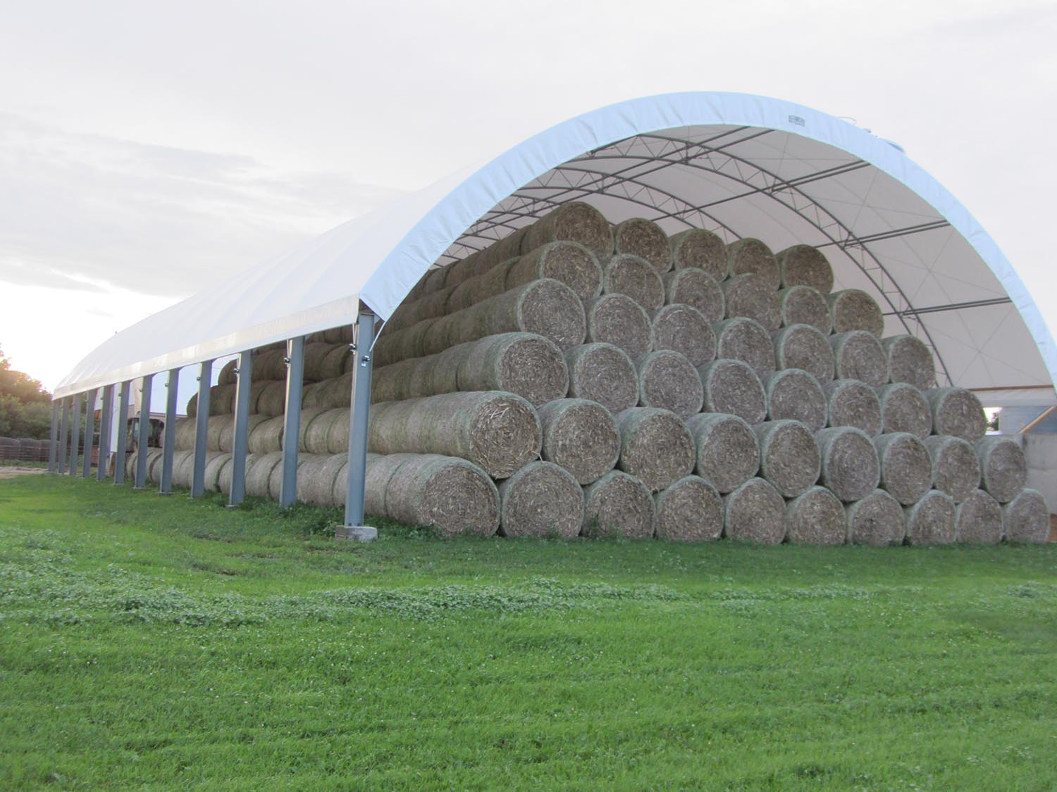 Fabric Structures Product : Product spotlight fabric covered buildings farmers hot line