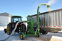 Grain Vacs - Efficient piece of equipment | Farmers Hot Line