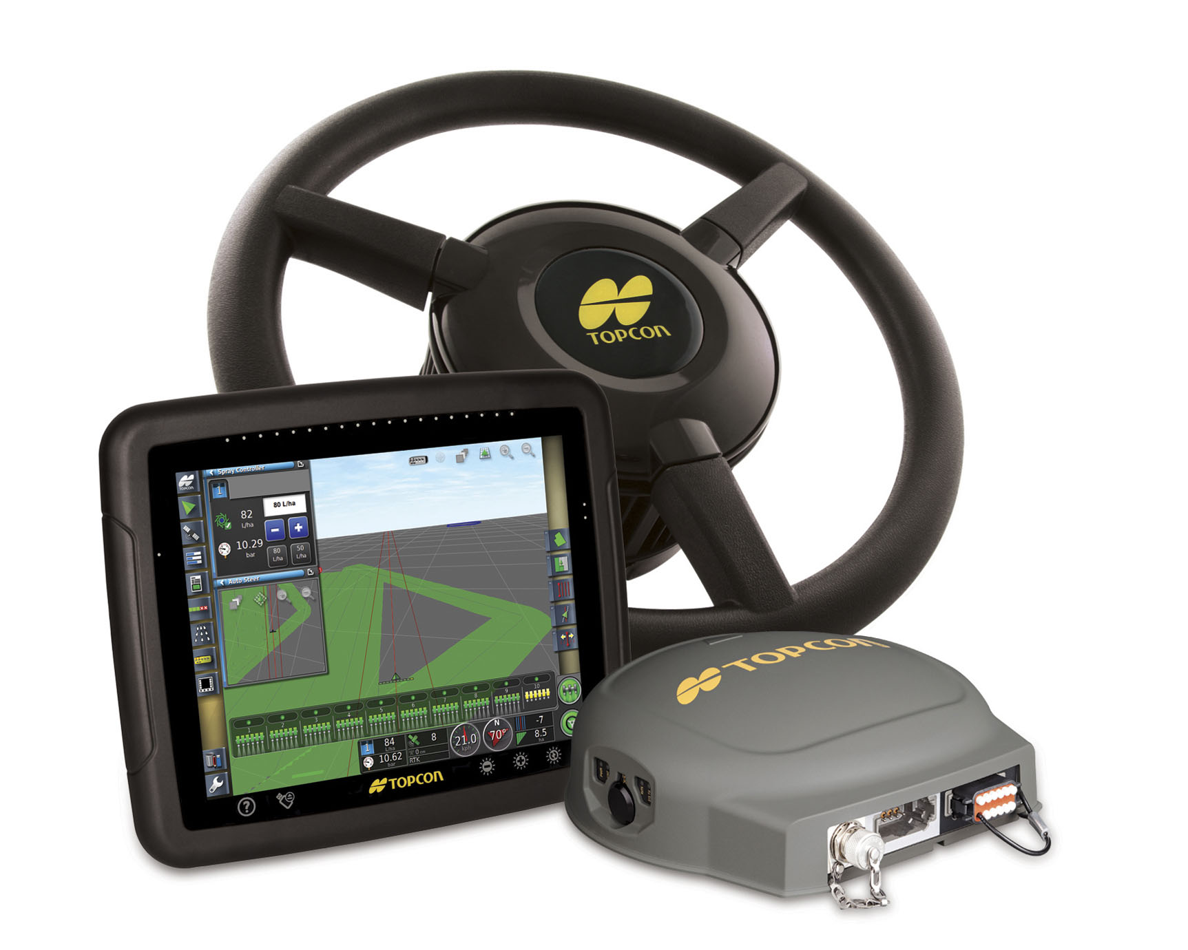 gps auto steering system spotlight farmers hot line. Black Bedroom Furniture Sets. Home Design Ideas