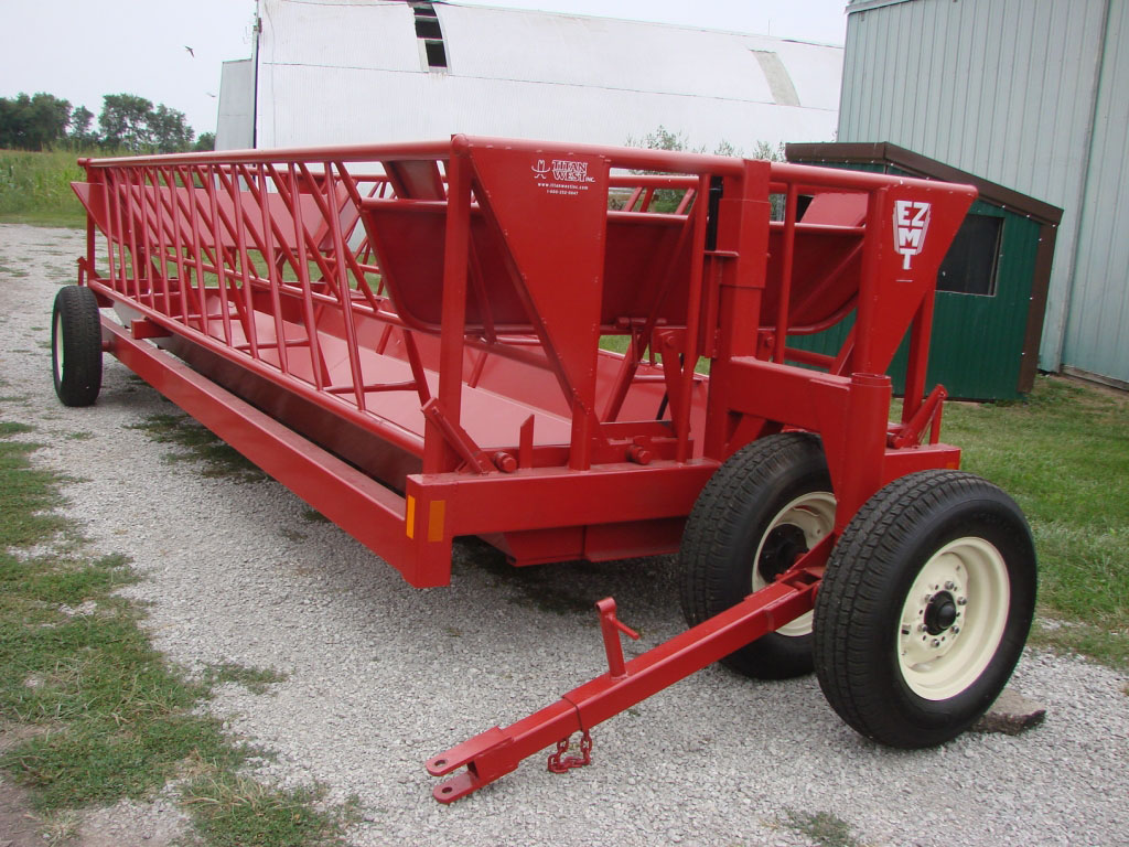 hay bale item liberty sold sep image for auction feeder wagon