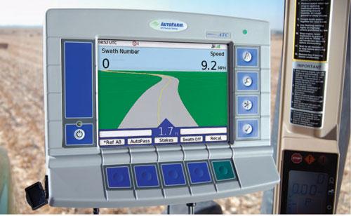Gps Auto Steering System Spotlight Farmers Hot Line