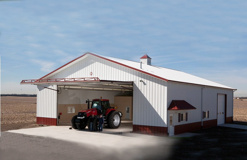 Buildings spotlight product spotlight farmers hot line for Morton garages