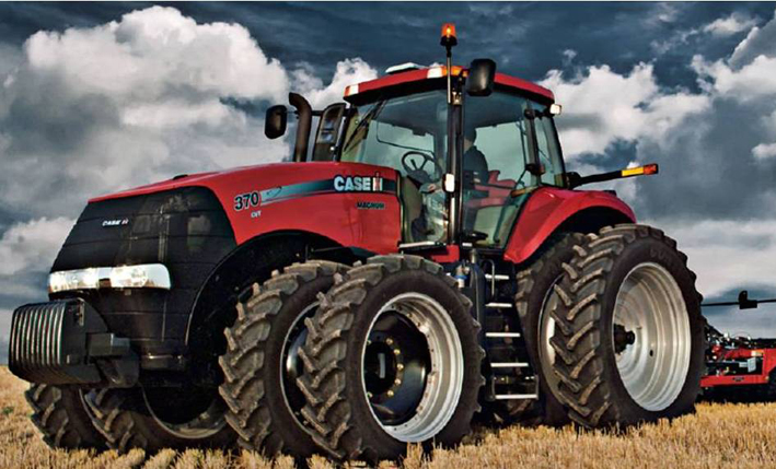 New Case Tractors : Full size tractor product spotlight farmers hot line