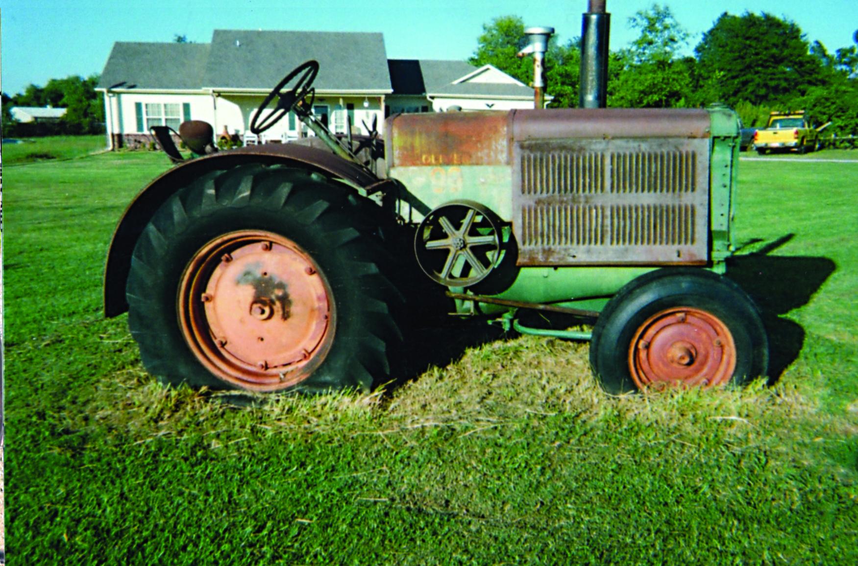 Back When: Delmer Meyer's 1949 Oliver 99 | Farmers Hot Line